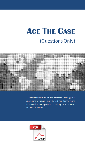Ace The Case - Questions Only (E-book)